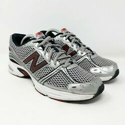 New Balance 470 V2 Running Shoes Silver Red M470sr2 Mens Size 9 Wide