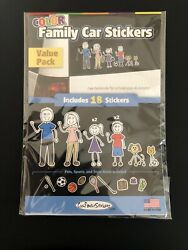 Color Family Stickers Car Stickers Stick Family Decals