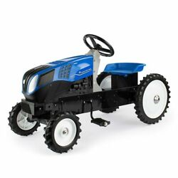 New Holland T8 Pedal Tractor With Mfd Tires By Ertl 13954