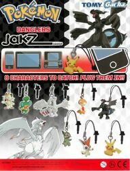 Pokemon Danglers Jakz Strap / Cell Phone Strap / Plug Zekrom New And Boxed