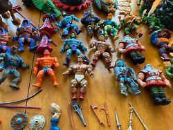 He Man And The Masters Of The Universe Vintage Mattel Toy Lot Motu Lot
