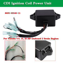 1pc Cdi Unit 695-85540-11 For Yamaha 9.9 15 25 Hp Outboard 2 Stroke Engines