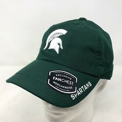Nwt Top Of The World Michigan State Msu Spartans Green Snapback Ajustable Hat