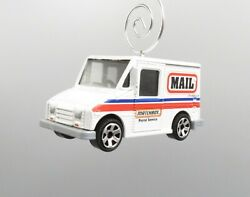 Mail Postal Service Delivery Car Truck Custom Christmas Ornament