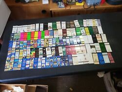 Old Matchbook Cover Lot - 800+ - Camel Vintage Advertisements And More