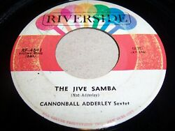 Cannonball Adderley Sextet- The Jive Samba- 1963 Jazz 45 Riverside Vg-/vg