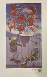 Robert Williams Appetite For Destruction Limited Edition Print Guns And Roses