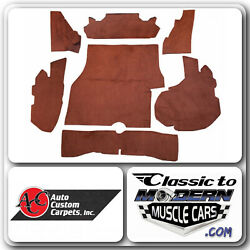 82-87 Chevrolet Monte Carlo Trunk Carpet Kit Material Cutpile Without Logo