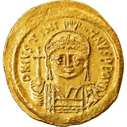[489925] Coin Justinian I Solidus 527-565 Ad Antioch Gold