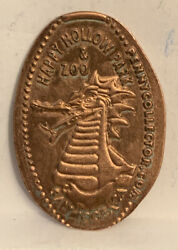 Happy Hollow Zoo Dragon Pressed Elongated Penny