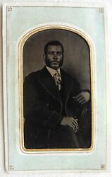 African American Black Man Ferrotype Towns' Gallery Main St. Front Royal Va Usa