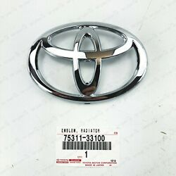 New Genuine Toyota 2002-2005 Camry And 2003-2006 4runner Grille Emblem 75311-33100