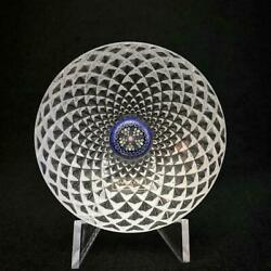 Saint Louis Paperweight Millefiori Crystal Paper Weight Excellent++