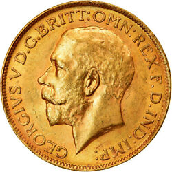 [854311] Coin, South Africa, George V, Sovereign, 1927, Au55-58, Gold, Km21