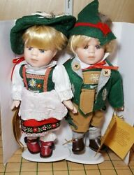Rf Collection German Boy And Girl Porcelain Dolls Germany