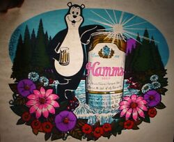 Hamms Beer Vintage 1970and039s Iron On Transfer Alcohol -nice B-11