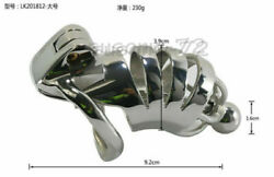 Stainless Steel Male Chastity Cage Device Birdcage Couple Game Lock Toys