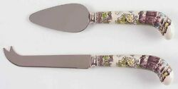 2-piece Cheese Set Knife And Server Friendly Village Johnson Brothers England