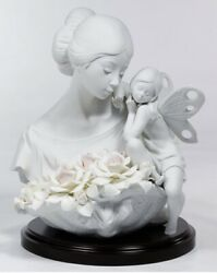 New In Box Lladro 6854 Beauty In Bloom Limited Edition 585/3000