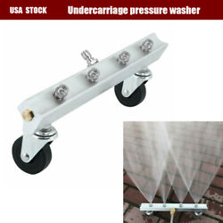 13 Inch 4 Nozzles Pressure Washer Undercarriage Under Car Cleaner Water Broom