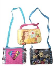 Disney Purses for little girls first purse Disney Belle Supergirl Minion Choice $7.00