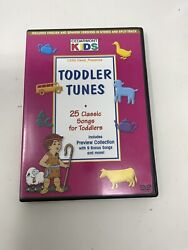 Cedarmont Kids - Toddler Tunes Dvd 2001 25 Classic Songs For Toddlers