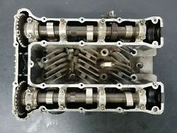 Cylinder Head 1978 Yamaha Xs 750 W/ Camshafts And Intake Boots Oem