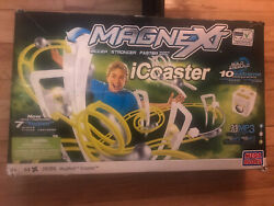 Mega Bloks Magnext Icoaster Rollercoaster Plug Play Mp3 Player Complete New