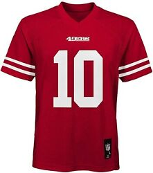 Jimmy Garoppolo Nfl San Francisco 49ers Red Home Mid Tier Jersey Youth