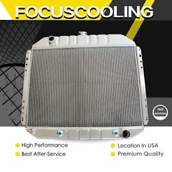 Kks 3 Rows Radiator Fit 1966-1979 Ford Truck F-100 F-150 F-250 F-350 Chevy Eng