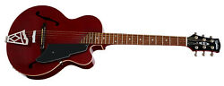 Vox Vga3pstr Giulietta Vga-3ps Tr Trans Red Archtop Acoustic/electric Guitar