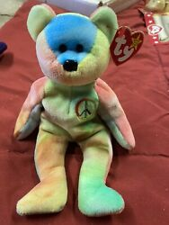 Peace Beanie Baby Mint Condition