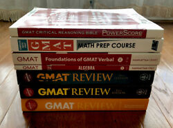 GMAT Guides MSRP $250 Value All Books Shown Included