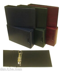 Glen 2 Ring Collectors Binder / Album - Optional Colour Slipcase And Sleeves
