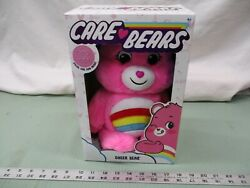Care Bears Special Care Coin Cheer Bear Pink Collectible Figures Teddy Toy Fun