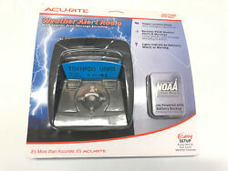 Acu-rite Weather Alert Radio With Specific Area Message Encoding