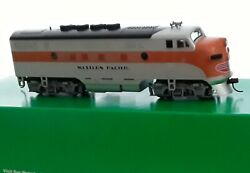 Bowser Ho F7 A Western Pacific Powered Locomotive Dcc Ready With 21 Pin Board