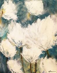 Art-print-brown-floral-floral-painting-2-on-paper-canvas-or-framed