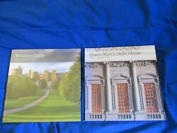 2 Official Souvenir Guide Books - Windsor Castle And Queen Mary's Dolls' House