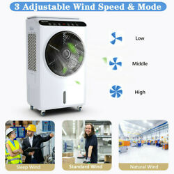 Evaporative Portable Air Conditioner Cooler Fan Humidifier With Remote Control