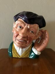 Royal Doulton Toby Character Jug Ard Of Earing Large Size D6588 Dated 1963