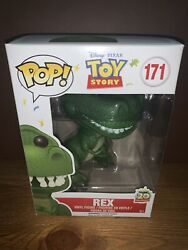Funko Pop Disney Pixar Toy Story Rex 171 Vaulted 20th Anniversary In Protector