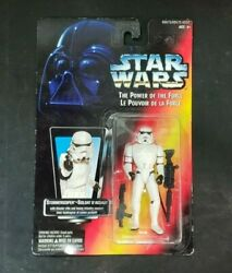 Star Wars Potf2 Square Cut Card Canada Only - Stormtrooper - Action Figure Moc