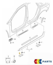 New Genuine Audi Rs6 13-16 Front Right Jack Pad Cover Trim Primed 4g0853446agru