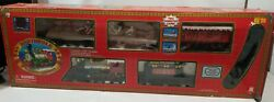 North Pole Holiday Express Christmas Animated Musical Train Set 1999 Toy State