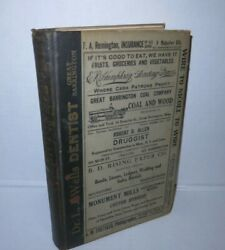 South Berkshire Massachusetts And New Canaan Ct Directory 1920-22 Period Ads