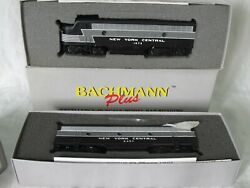 Ho Scale Bachmann Plus Emd F7a 1873 And F7b 2457 New York Central Nyc