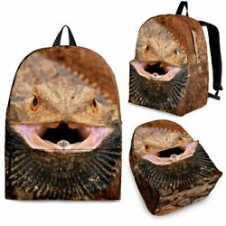 Bearded Dragon Lizard Backpack 3 Sizes