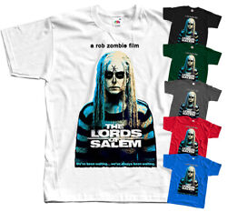The Lords Of Salem V1 Rob Zombie Horror Movie T Shirt Black All Sizes S-5xl