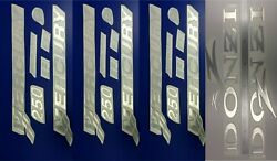 Mercury 250 Emblem -3 Pieces + Donzi Decal + Free Fast Delivery Dhl Expres